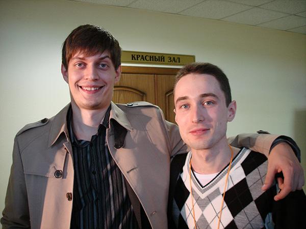 Дмитрий Науменко и Виктор Федоренков