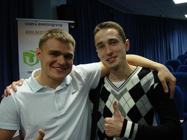 Дмитрий Науменко и Евгений Смирнов